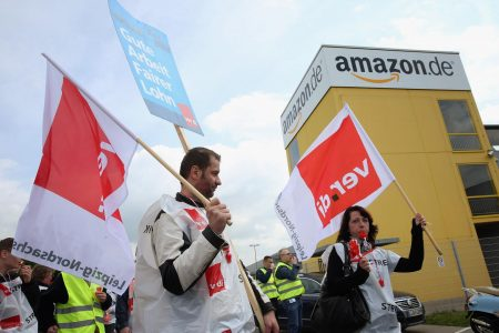 Black Friday: Amazon Workers Strike for Higher Wages, Better Conditions