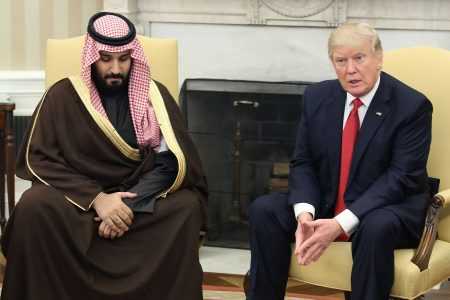 Trump Claims the CIA 'Didn't Conclude' That the Saudi Prince Ordered Khashoggi's Murder
