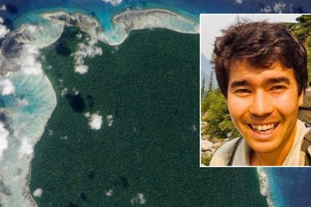American killed by bow and arrow-wielding tribe while trying to visit remote Indian island