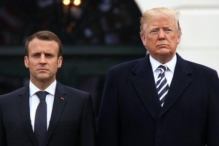 Trump rips Macron for suggesting EU army