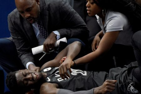 Caris LeVert of Nets Sustains Gruesome Leg Injury, Moving Some to Tears