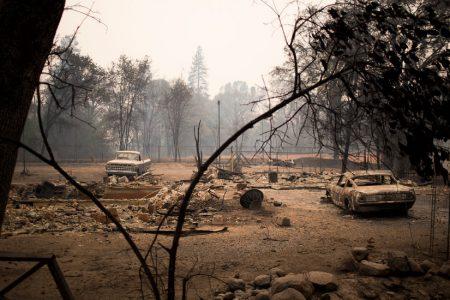 California Fire Liability Poses Threat to PG&E, a Major Utility