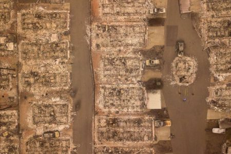 Relentless California wildfires leave 79 dead, nearly 1300 others still missing