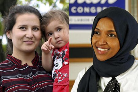 2 former refugees make history with midterm victories