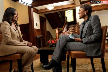 Michelle Obama reflects on being the first black first lady and her reaction to Donald Trump winning the presidency