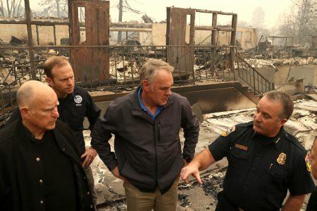 Zinke blames 'environmental radicals' for deadly California fires