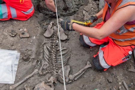 This medieval skeleton died with his boots on – National Geographic