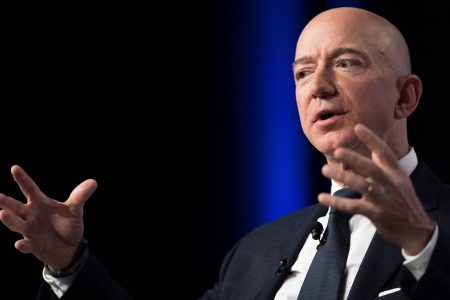 Amazon is now in the running in a three-way race to become the world's most valuable public company – CNBC