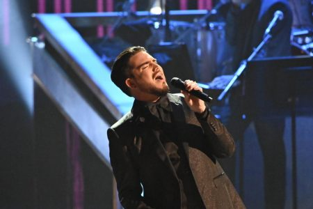 """Adam Lambert's performance of """"Believe"""" brings Cher to tears at Kennedy Center Honors – CBS News"""