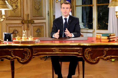 Unrest in France Hinders Macron's Push to Revive Economy – The New York Times
