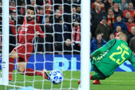 Steady Amid Another Anfield Storm, Liverpool Advances in Champions League – The New York Times