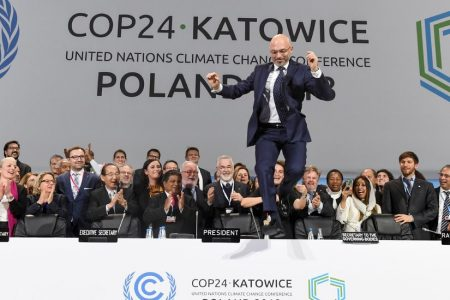 Climate Negotiators Reach an Overtime Deal to Keep Paris Pact Alive – The New York Times