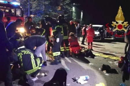 At least 6 killed and dozens wounded after nightclub stampede in Italy – CNN