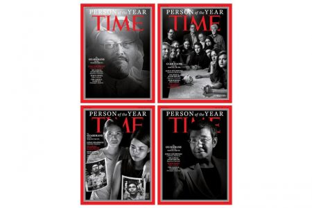 Jamal Khashoggi and journalists named Time Person of the Year – CNN