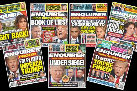 How the National Enquirer broke up with President Trump – CNN
