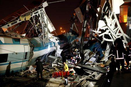 Turkey high-speed train crashes into bridge, killing four – CNN