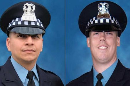 Man held after deaths of Chicago officers struck by train says he found gun, test-fired it – CNN