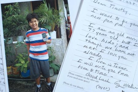 George H.W. Bush secretly sponsored a Filipino child for 10 years. Read some of the letters they sent each other – CNN