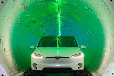 Elon Musk's first tunnel is finished. Here's what it's like to ride in it – CNN