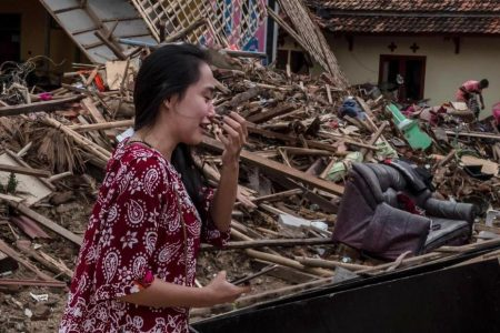 One man found his family safe after Indonesia's tsunami, while another lost his wife and bandmates – CNN