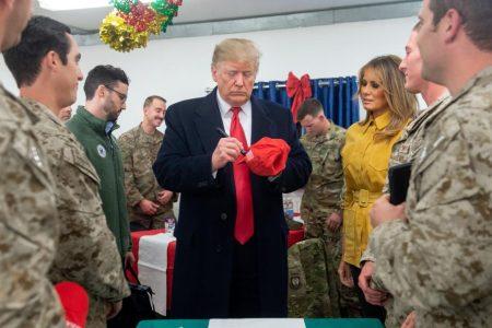 MAGA hat, campaign rhetoric cast cloud over Trump Iraq visit – CNN