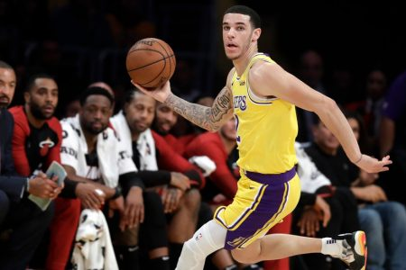 Lonzo Ball Strives to Be a Point Guard Fit for a King – The New York Times