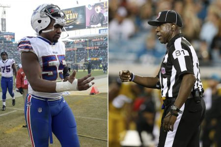 NFL refs back official accused of calling player vulgar name – The Associated Press