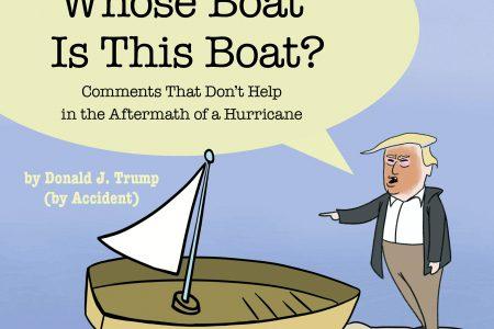 Stephen Colbert: Trump spoof book 'Whose Boat' wrote itself – Associated Press