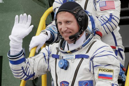 Russia: Hole drilled from inside Int'l Space Station capsule – The Associated Press