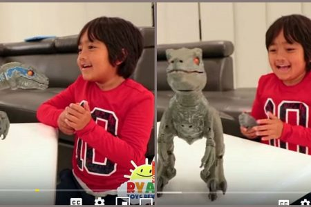 YouTube's top earner is a 7-year-old who made $22 million playing with toys – USA TODAY
