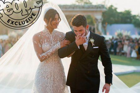 See Priyanka Chopra's stunning Ralph Lauren wedding dress – with a 75-foot long veil – USA TODAY