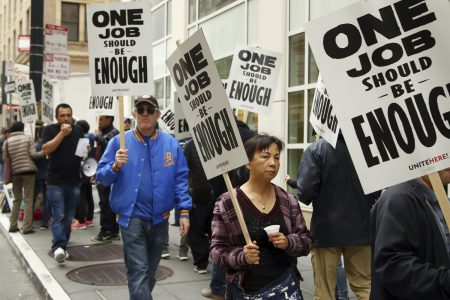 Huge Marriott Hotel Strike Ends With San Francisco Workers Winning Better Pay – HuffPost