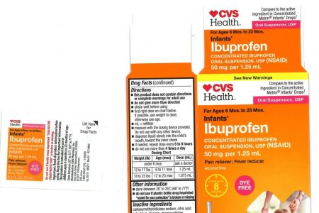 Infant ibuprofen sold under CVS, Walmart, and Family Dollar brands is being recalled – Business Insider