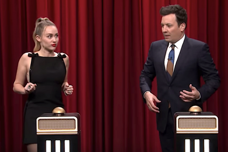 Miley Cyrus Can't Recognize Her Own Song In 'Tonight Show' Challenge – HuffPost