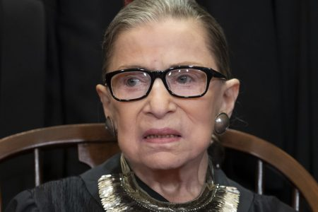 Ruth Bader Ginsburg Posed With Gift From Fan In Latest Supreme Court Portrait – HuffPost