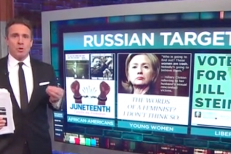 CNN's Chris Cuomo Spots 'Uncanny' Similarity Of Trump And Russian Bot Messages – HuffPost