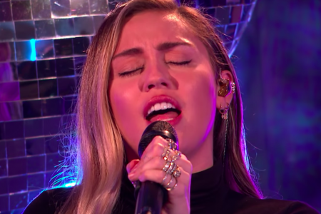 Miley Cyrus Covers 'No Tears Left To Cry' As You've Never Heard It Before – HuffPost