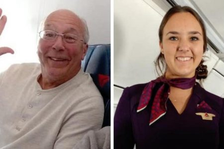 Man Books 6 Flights To Spend Christmas With Flight Attendant Daughter – HuffPost