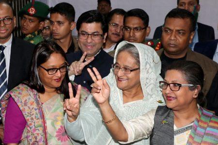 Hasina 'wins Bangladesh elections' as opposition rejects polls – Al Jazeera English