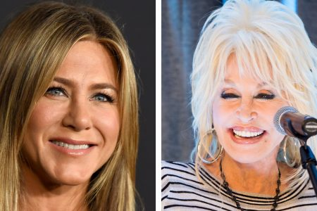 Jennifer Aniston responds to Dolly Parton's threesome bombshell: 'My mouth just dropped' – USA TODAY