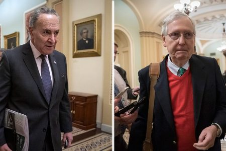 Schumer demands Trump 'abandon the wall' as DC faces shutdown stalemate – Fox News