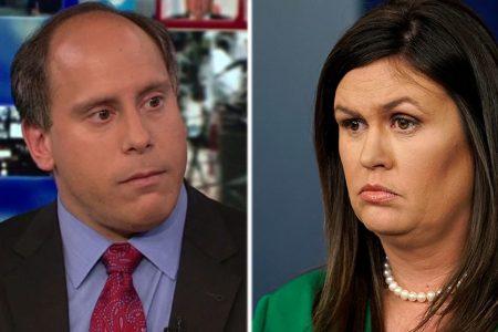 Reporter shouts at Sarah Sanders after briefing: 'Do your job, Sarah!' – Fox News