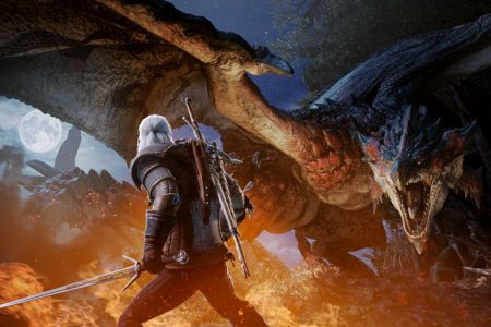 The Witcher's Geralt is coming to Monster Hunter: World – Polygon