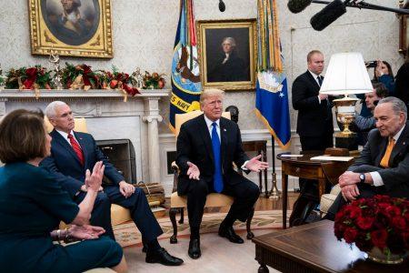 U.S. stocks sought higher ground. Then Trump detoured 'to crazy town.' – The Washington Post