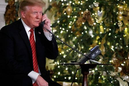 Trump, in Christmas Eve phone call, asks child if they still believe in Santa Claus – Fox News