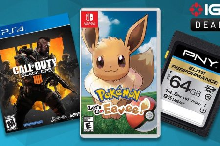 Daily Deals: Memory Storage Sale, Pokemon: Let's Go Eevee for $51 – IGN