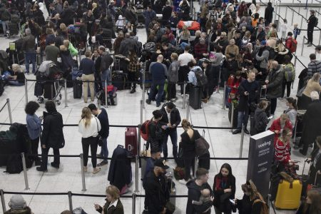 Drone sightings ground flights at London's Gatwick Airport as holiday travel rush picks up – CBS News