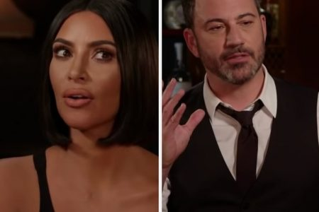 """Kim Kardashian West Answered Ridiculous Questions On """"Jimmy Kimmel Live!"""" And The Tea Is Scorching – BuzzFeed"""