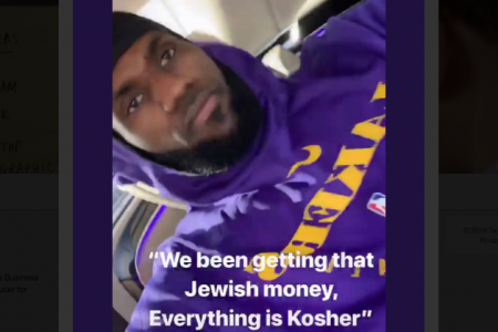Lebron James Posts 'Jewish Money' Selfie With 21 Savage Rap Lyrics, Angering Conservative Critics – Newsweek