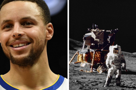NASA offers to show Stephen Curry proof after he raised doubts about moon landing – CBS News